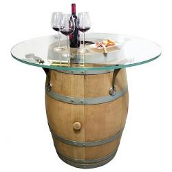 Table barrique